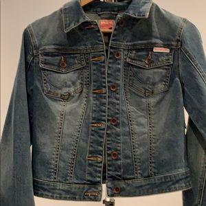 Superdry perfect denim jacket NWT